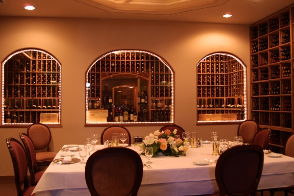 Chantilly S Private Wine Room Pictured In 2002 Palo Alto Weekly File Photo