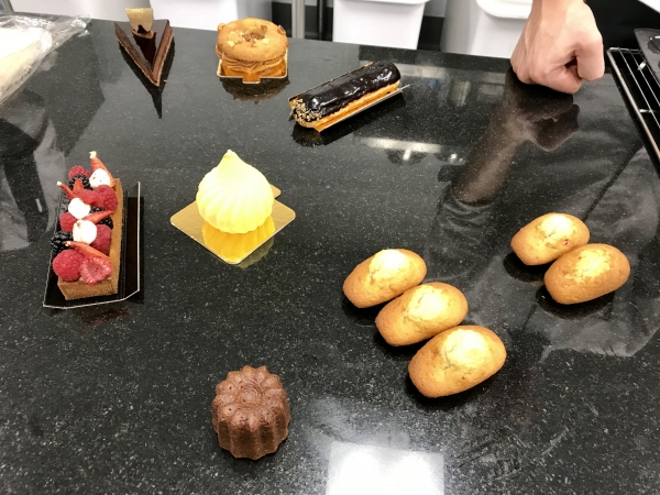 A Selection Of Pastry Including Chocolate Eclair Fraisier Madeleine And Canele Photo By Elena Kadvany