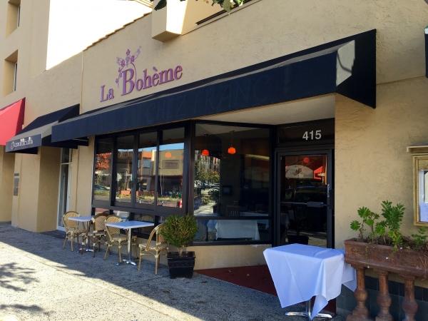 Above La Bohème A New French Restaurant At 415 California Ave In Palo Alto