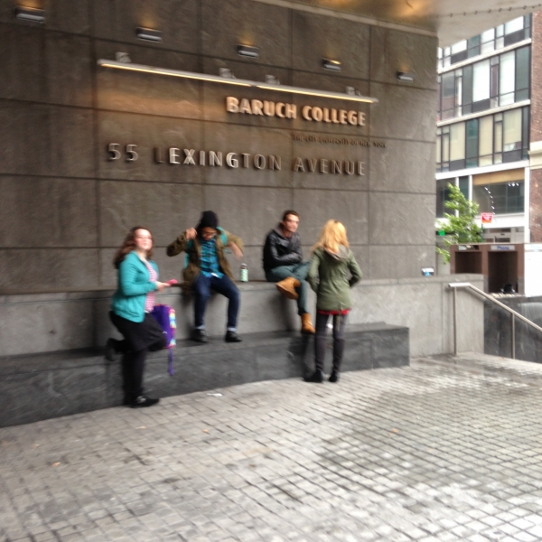 New York City College Tours, Part Two: NYU, CUNY Baruch, and