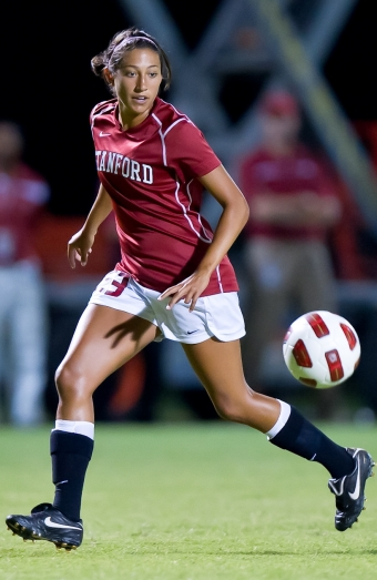 Hat trick by Press leads Stanford women's soccer | News ...