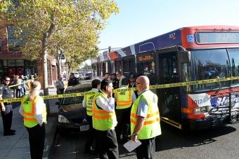 Man Dies At El Camino Real Bus Stop In Palo Alto News
