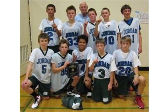 Jordan Middle School 7th Grade Boys Team Wins Title