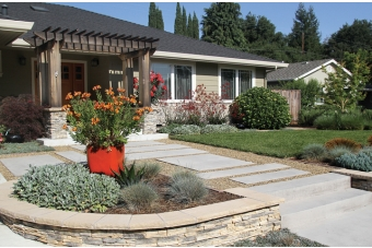 Design in a day news palo alto online for How much to landscape a small front yard