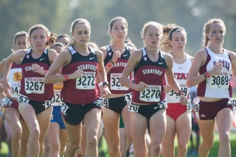 Stanford Cross Country Teams Eye Pac 12 Titles News Palo Alto