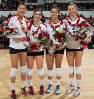 Stanford Women Open Ncaa Volleyball Playoffs At Home
