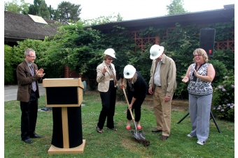 palo alto breaks ground on main library renovation news palo alto online. Black Bedroom Furniture Sets. Home Design Ideas