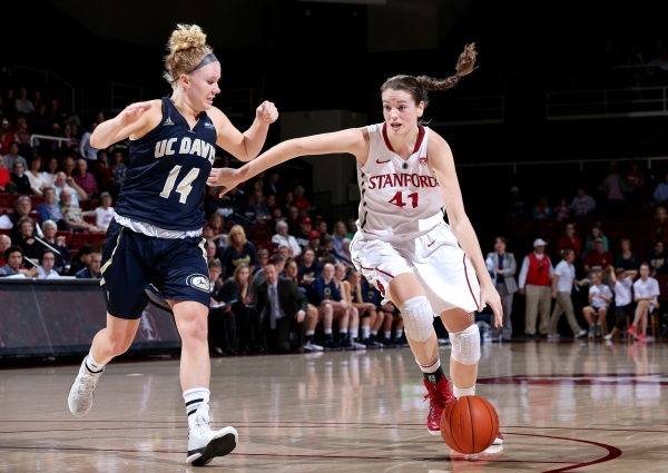 Samuelson sisters lead Cardinal to basketball victory