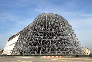Nasa Google Ink Deal For Hangar One Moffett Airfields