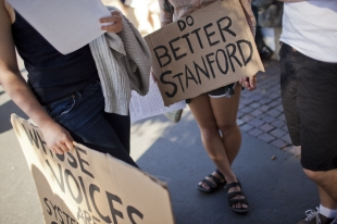 Stanford students join in national sexual-assault protest