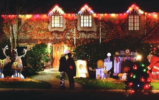 Christmas Tree Lane.A Walk Down Christmas Tree Lane News Palo Alto Online