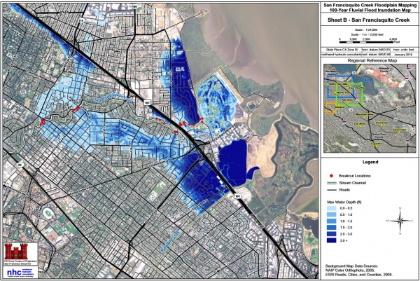Fulljpg - Us army corps of engineers 100 year flood maps