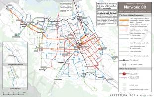 Vta Considers Complete Bus Route Overhaul News Palo