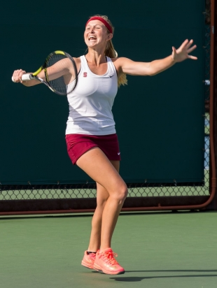 news stanford point nonconference tennis match