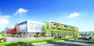 Office Project At Olive Garden Site Races To Meet Palo