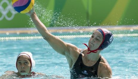U.S. Olympic Committee honors USA water polo, Ledecky