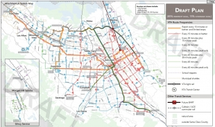 Compromise On Vta Bus Routes Plan Unveiled News Palo