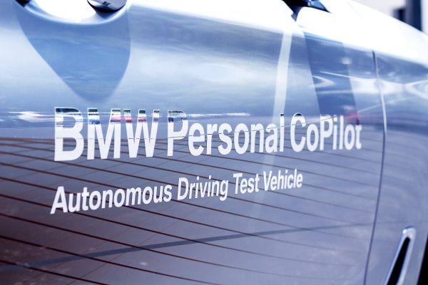Bmw S Autonomous Vehicle Was Developed At The Company S Group Technology Office In Mountain View