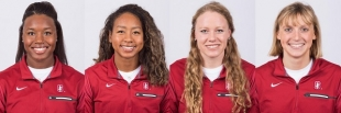 Simone Manuel, Lia Neal, Ella Eastin, Katie Ledecky helped Stanford win the NCAA 800 free relay title for t