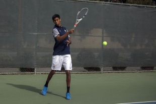 meet menlo singles Siddharth chari rallied to win his singles match, highlighting menlo school's 6-3 victory over harvard-westlake in the championship match of the national high school all-american team tennis tournament at palisades.