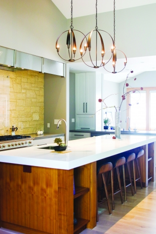 Kitchen Designers No Longer Include Appliance Garages, Instead Opting For A  Door That Can Be Raised And Slid Into A Cabinet (see White Cabinet In  Center Of ...