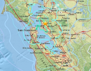 early morning earthquake shakes parts of the bay area