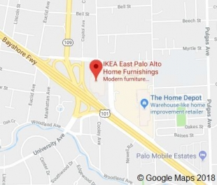 Car crashes into ikea in east palo alto news palo alto for Www ikea com palo alto