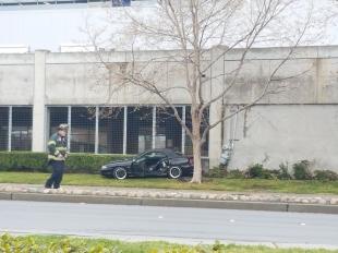 car crashes into ikea in east palo alto news palo alto online. Black Bedroom Furniture Sets. Home Design Ideas