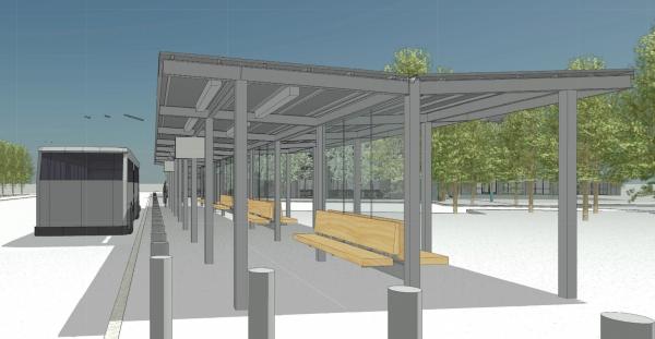 Facebook plans new bus stop to meet growing transit needs | News
