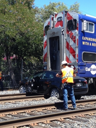 Residents Debate Closure Of Churchill And Palo Alto Avenues At The Tracks