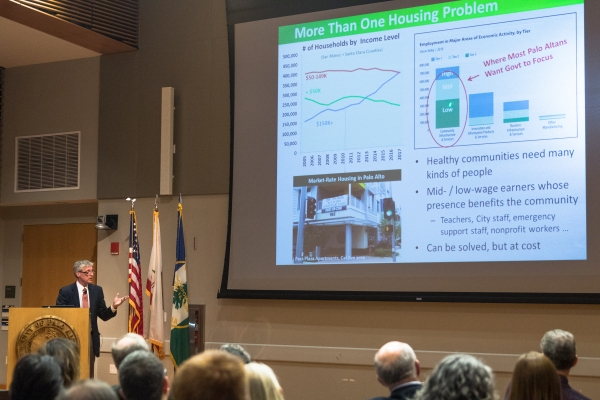 Palo Alto mayor challenges Sacramento on housing | News | Palo Alto