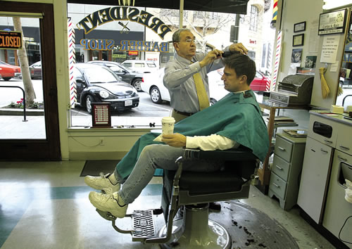 Barber Shop Palo Alto : Palo Alto Online: A cut above